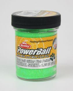 Konstbete Berkley PowerBait, Glitter + Pellets, Spring Green, 50 g