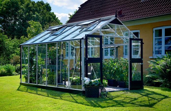 Växthus Juliana Premium 13,0 säkerhetsglas