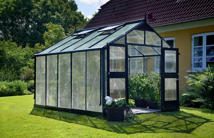 Växthus Juliana Premium 10,9 isolerplast