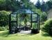 Kasvihuone Juliana Premium 13,0 m² turvalasilla, antrasiitti/musta väri