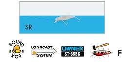 Usami Purin -vaappu pituus 38mm paino 3,9g väri 589