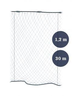 Stolpgrimnät 120mm x 1,2/1,8 garn 0,30 längd 30m, Pietari dubbelteln