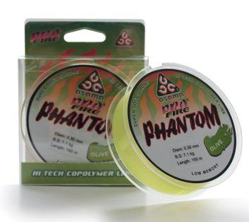 Asama Profire Phantom -lina 150m, färg oliv