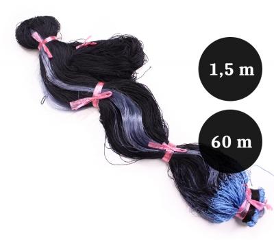 Pietarin riimuverkon valmisliina 55mm 1,5m lanka  0,12x3 pituus 60m