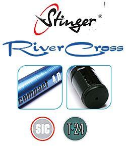Teleskopspö Stinger RiverCross Compact