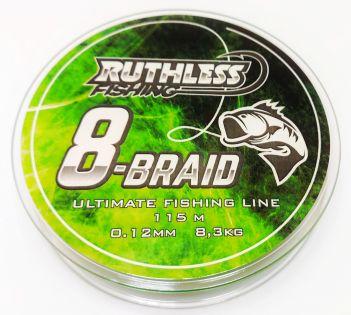 Multimonofil Ruthless 8-Braid 115m