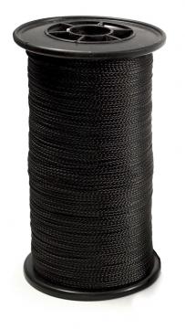 Pitkäsiiman selkäsiima musta Ø 1,0mm