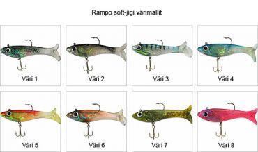 Rampo Soft-jigg, färg 1