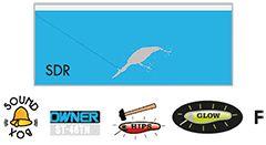 Usami Tsumetai-wobbler längd 95mm vikt 18,8g färg 010
