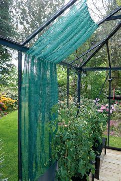 Varjostusverkko vihreä 150x250 cm