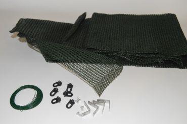 Grön skuggardin 150x370 cm