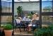 Kasvihuone Juliana Veranda 12,9 m² turvalasilla, antrasiitinharmaa/musta väri