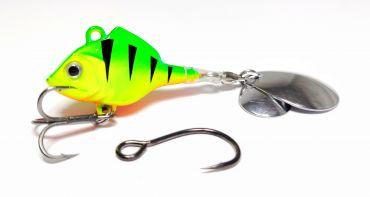 Drag Ruthless Perch Spinner 14 g, färg 08