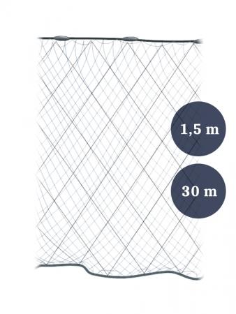 Riimuverkko 80mm x 1,5/2,1x0,12x3 pituus 30m, Pietarin kaksoispaula
