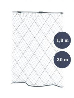 Grimnät 90mm x 1,8/2,4x0,12x3 längd 30m, Pietari dubbelteln